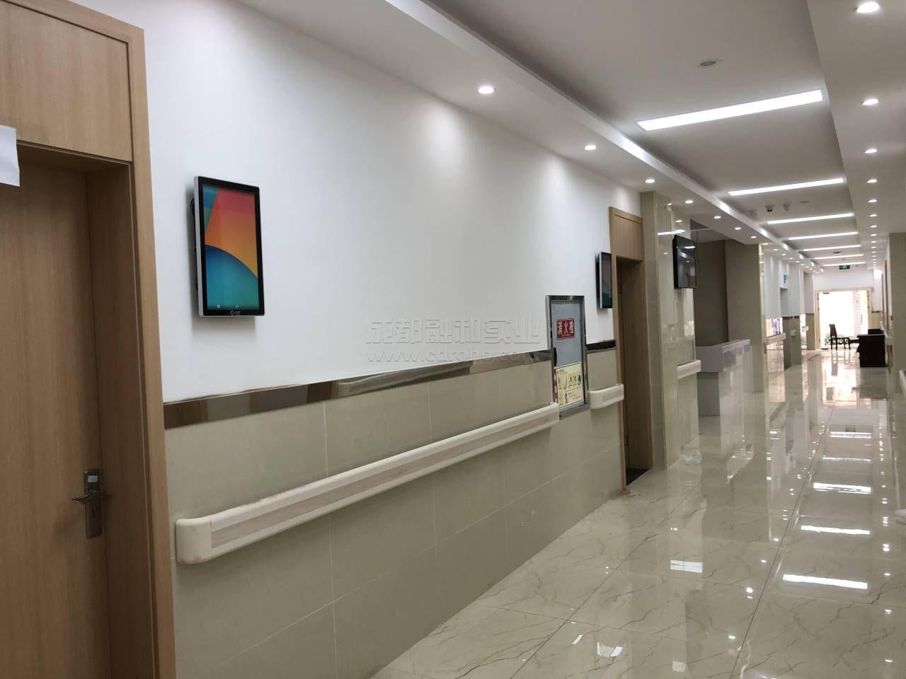 智慧卫生服务中心门诊排队系统竖屏显示